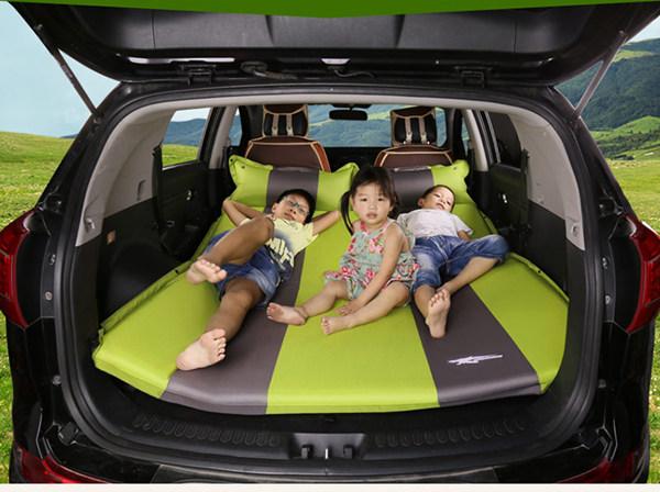 SUV后备箱可以放入充气床